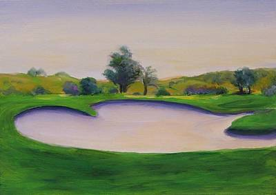 Painting - Hole 2 Nuttings Creek by Shannon Grissom