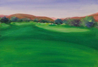 Painting - Hole 5 San Justo by Shannon Grissom