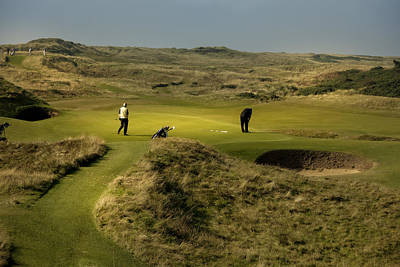 Photograph - Hole 8 The Postage Stamp Royal Troon Golf Course by Alex Saunders