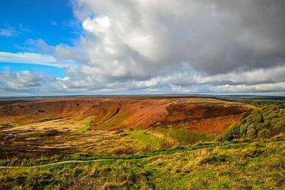 Hole Of Horcum, North York Mores, Yorkshire, United Kingdom Art Print