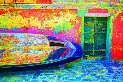 Hole In The Boat Art Print