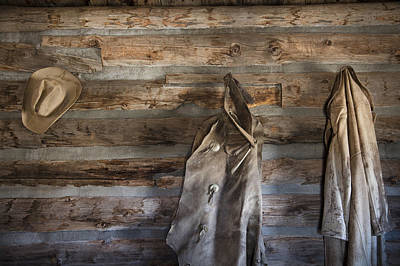 Photograph - Hole-in-the-wall Cabin At Old Trail Town In Cody In Wyoming by Carol M Highsmith