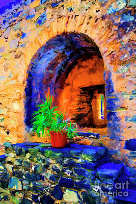 Digital Art - Hole In Wall by Rick Bragan