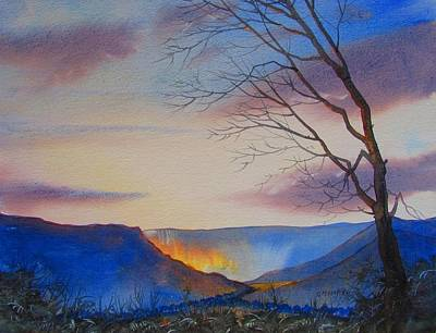 Painting - Hole Of Horcum by Glenn Marshall