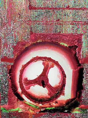 Mixed Media - Hole Opposite by Tony Rubino