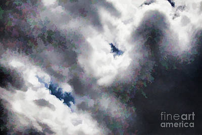 Digital Art - Holes In Clouds by Rick Bragan
