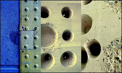 Photograph - Holey Wholes by Marlene Burns
