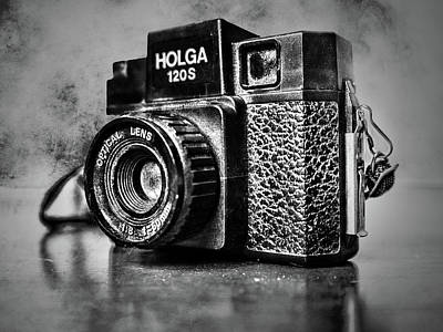 Photograph - Holga 120s Black And White by Sharon Popek