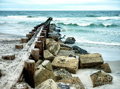 Photograph - Holgate Waves by John Rizzuto