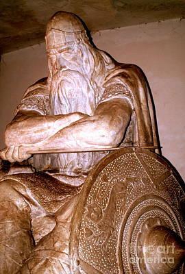 Sculpture - Holger Danske 2 by Michael Canning