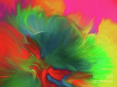 Painting - Holi Celebration by Patti Schulze