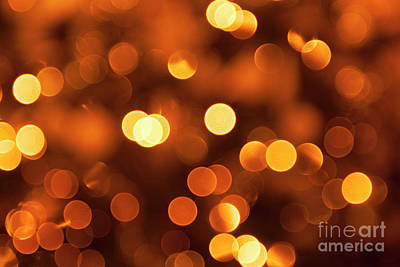 Photograph - Holiday Background Of Lights by Patricia Hofmeester