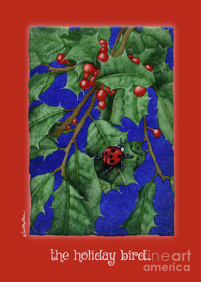Painting - Holiday Bird... by Will Bullas