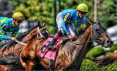 Photograph - Holiday Bonus W Irad Ortiz,jr by Jeffrey Perkins