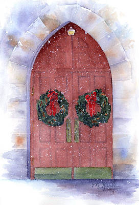 Painting - Holiday Chapel by Marsha Karle