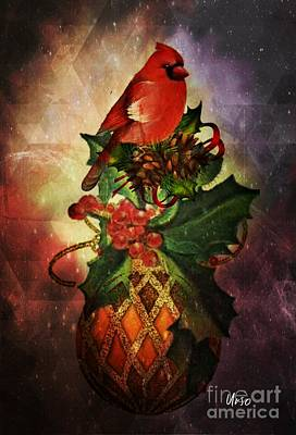 Digital Art - Holiday Cheer by Maria Urso