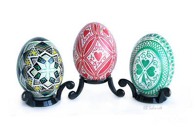 Photograph - Holiday Eggs by E B Schmidt