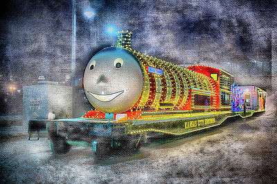 Photograph - Holiday Express by Pamela Williams