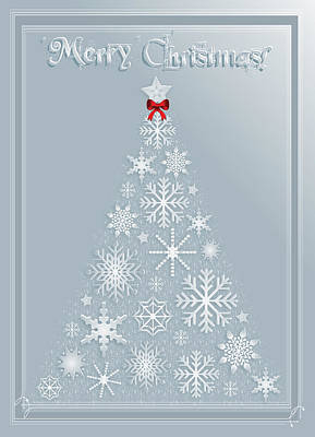 Digital Art - Christmas Holiday Greeting Card by Serena King