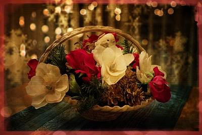 Photograph - Merry Christmas And Holiday Greetings by Lucinda Walter