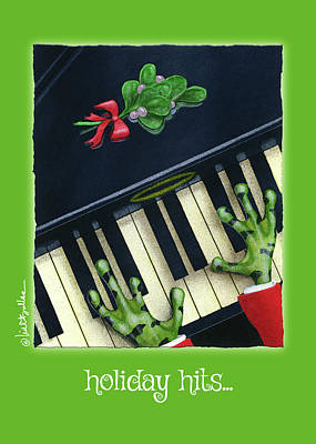 Painting - Holiday Hits... by Will Bullas