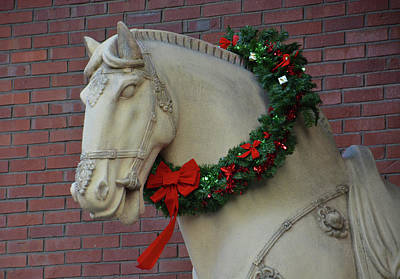 Photograph - Holiday Horse by Mike Martin