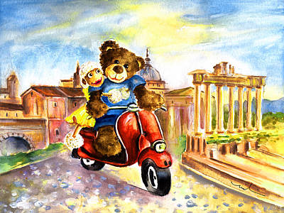 Holiday In Rome Original by Miki De Goodaboom