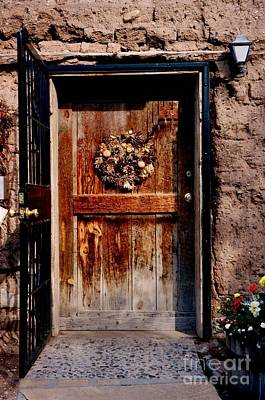 Photograph - Holiday In Santa Fe by Jacqueline M Lewis