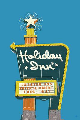Digital Art - Holiday Inn by Gary Grayson