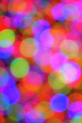 Photograph - Holiday Lights by Darren White