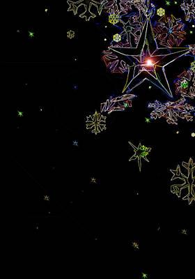 Digital Art - Holiday Lights by Gina Harrison