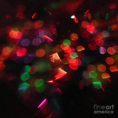 Digital Art - Holiday Lights by Kristi Kruse