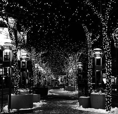 Photograph - Holiday Lights by Rand