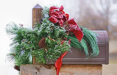 Photograph - Holiday Mail by Nikolyn McDonald