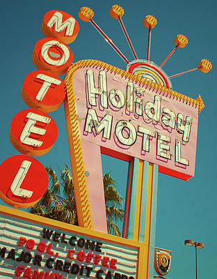 Photograph - Holiday Motel, Las Vegas by Jim Zahniser
