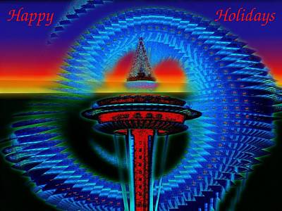 Photograph - Holiday Needle 2 by Tim Allen