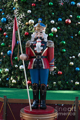 Photograph - Holiday Nutcracker by Dale Powell