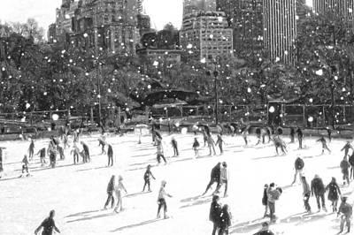 Digital Art - Holiday Skaters by Russ Considine