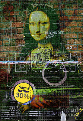 Mona Lisa Mixed Media - Holiday Snaps 1 by Andy  Mercer