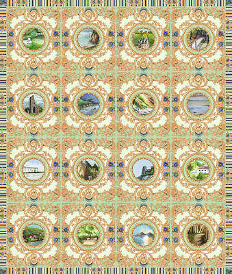 Digital Art - Postcards From A Dream 2 by Deborah Runham