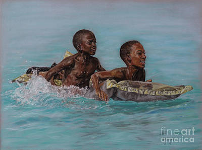 Pastel - Holiday Splash by Roshanne Minnis-Eyma