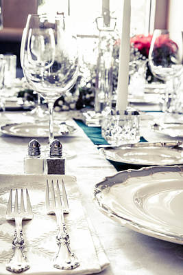 Word Signs - Holiday table by Alexey Stiop
