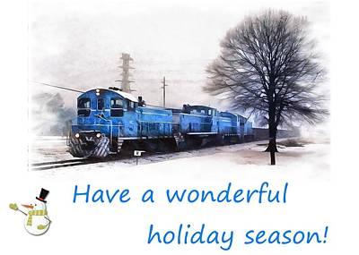 Photograph - Holiday Train by Joseph C Hinson Photography