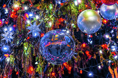 Photograph - Holiday Tree Ornaments by Chris Lord