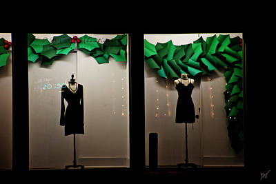 Photograph - Holiday Window Fashion by Gina O'Brien