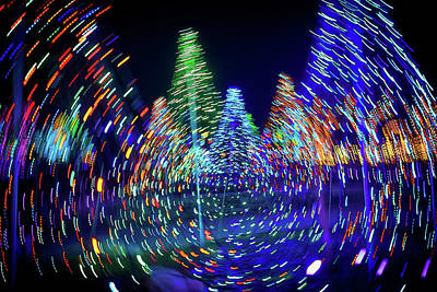 Photograph - Holidays Aglow by Rick Berk