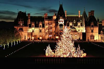 Photograph - Holidays At Biltmore House  by Carol Montoya