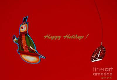 Mixed Media - Holidays by Elfriede Fulda