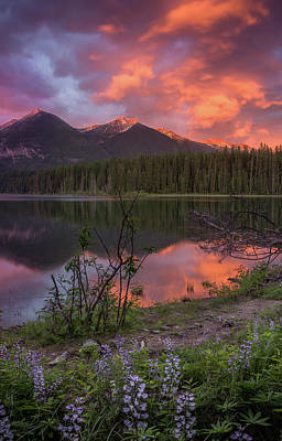Photograph - Holland Lake Spectacular // Holland Lake, Montana by Nicholas Parker