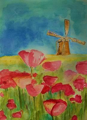 Painting - Holland Memories  by Julie Lueders